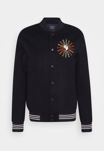 JACKET WITH FRONT AND BACK ARTWORK - Bomber Jacket - night
