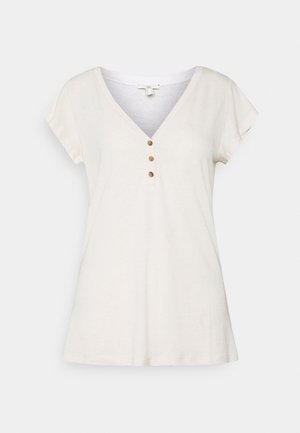 Basic T-shirt - light beige