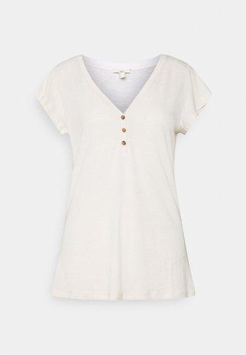 Basic T-shirt - light beige