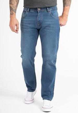 COMFORT FIT  - Straight leg jeans - blau