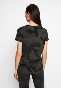 G-Star - ALLOVER TOP - T-shirts med print - raven - 2