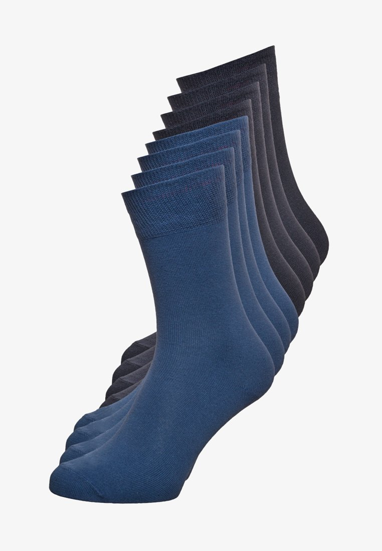 s.Oliver - ONLINE ESSENTIAL SOCKS  UNISEX 8 PACK - Sukat - blue