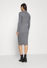 EDITED - HADA DRESS - Shift dress - grey - 2