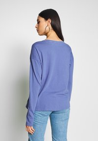 Gap Tall - AUTH BOXY TEE - Long sleeved top - larkspur - 2