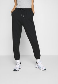 Even&Odd - REGULAR FIT JOGGERS - Jogginghose - black - 0