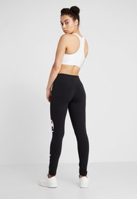 Champion - LEGGINGS - Legginsy - black - 2