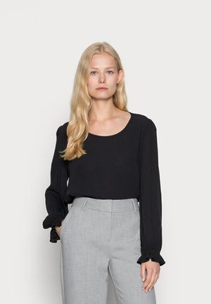 EASY BLOUSE SOLID - Blouse - black