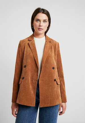 FRANSISKA - Blazer - tobacco brown