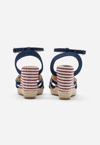 Kaporal - MONTY - High heeled sandals - marine - 3