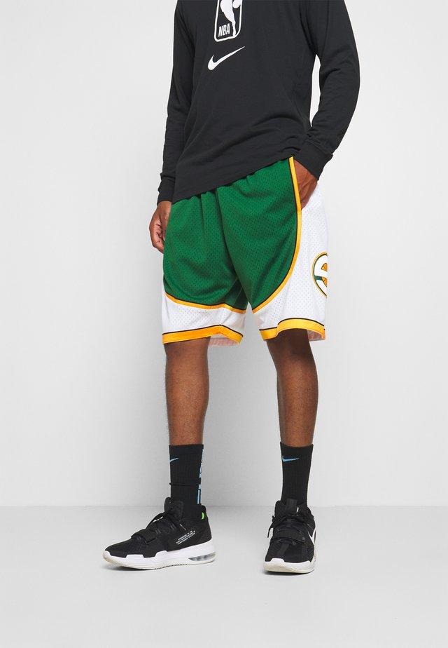 NBA SWINGMAN SHORT SUPERSONICS - kurze Sporthose - green/white