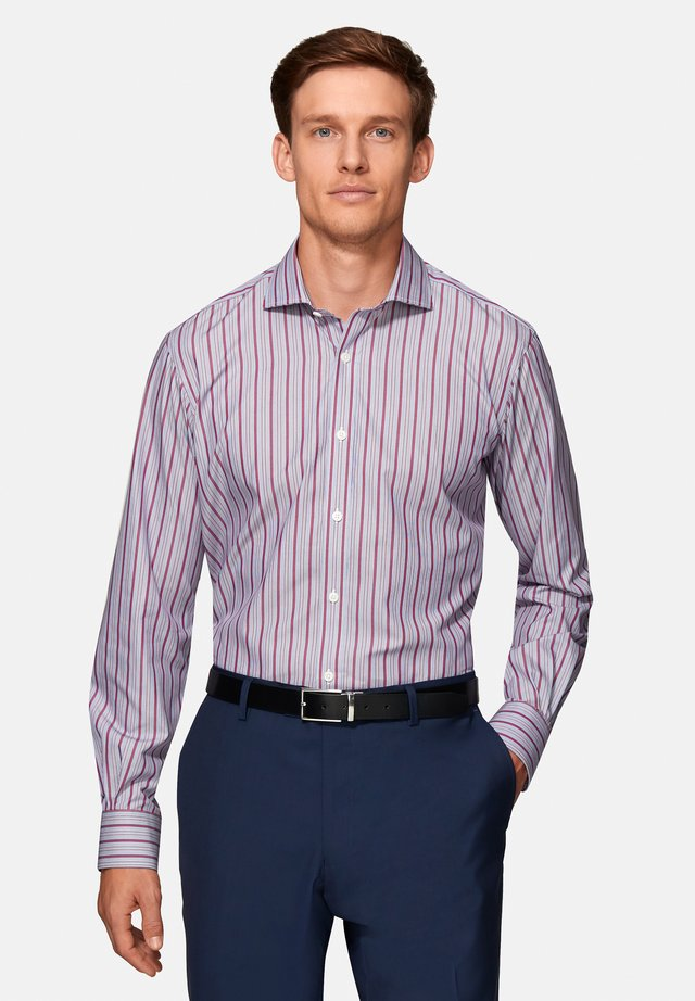 SLIM FIT POPLIN  - Shirt - purple
