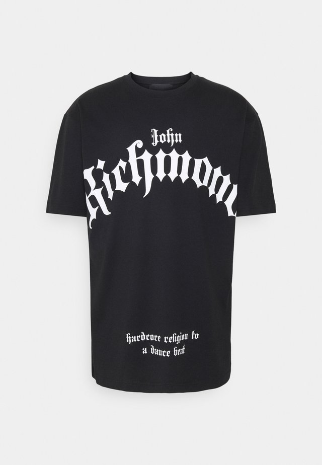 GENYEN - Camiseta estampada - black