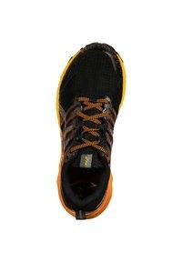 ASICS - Trail running shoes - black / sheet rock - 3