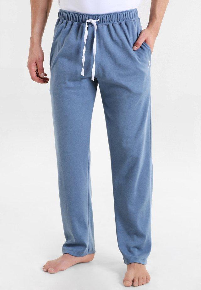 Bas de pyjama - blau mittel melange