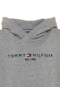 Tommy Hilfiger - ESSENTIAL HOODED  - Mikina s kapucí - grey