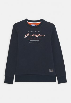 JORSTATION CREW NECK - Sweatshirt - navy blazer