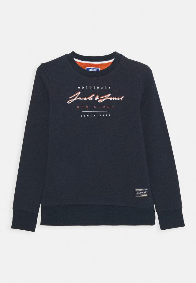 JORSTATION CREW NECK - Sweatshirt - navy blazer