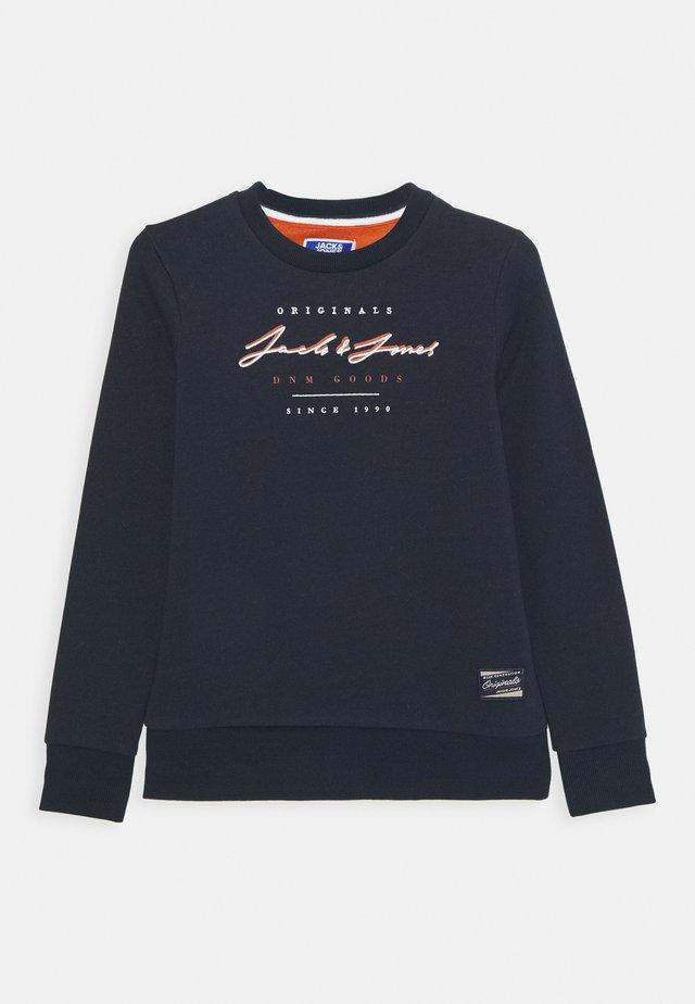 JORSTATION CREW NECK - Sweater - navy blazer