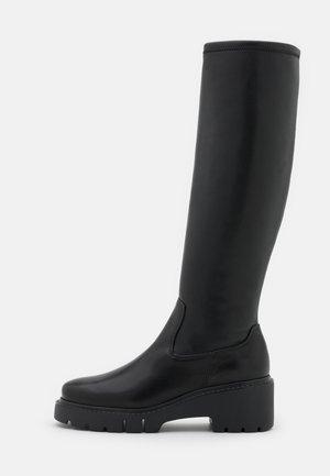JONJA - Platform boots - black