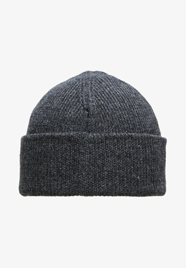 Bonnet - dark grey melange