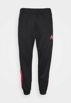 VARSITY TRACK PANTS - Tracksuit bottoms - black