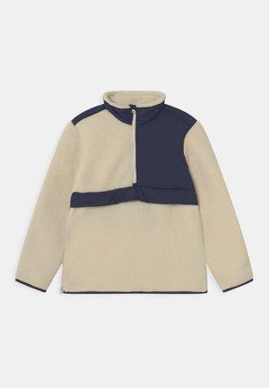 UNISEX - Fleece jumper - off white/navy