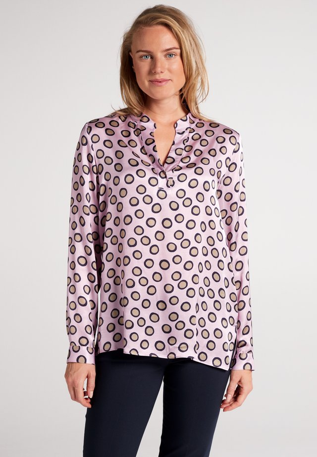 Blouse - flieder/taupe