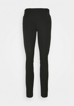 ANKLE BISTRETCH - Trousers - true black
