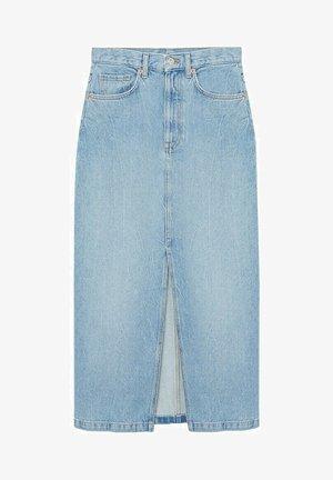 SIRA - Denim skirt - bleu moyen