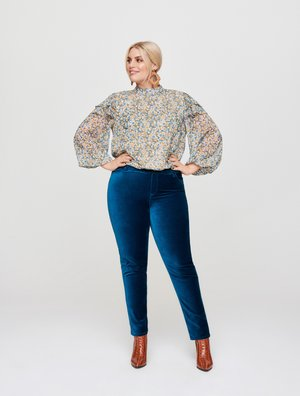 Slim fit jeans - petrol