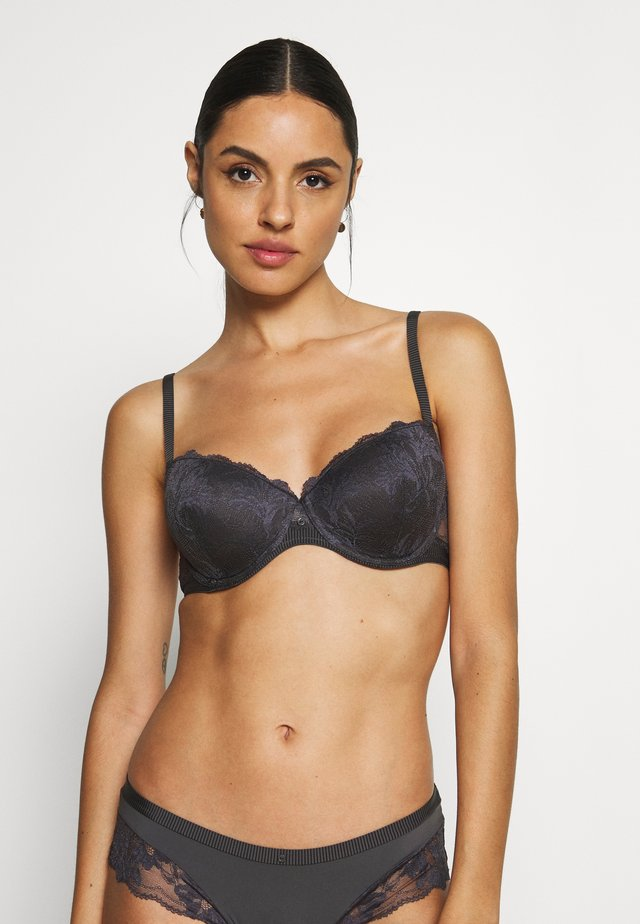 MACKAY FASHION DAILY PAD - Push-up BH - anthracite