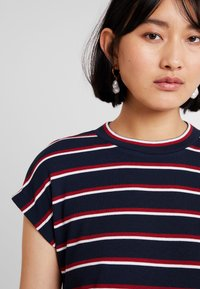 Mavi - STRIPE - Print T-shirt - dress blue - 3