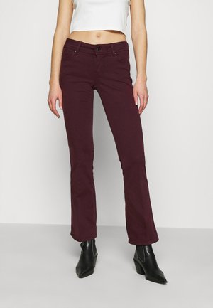 NEW PIMLICO - Trousers - dark plum