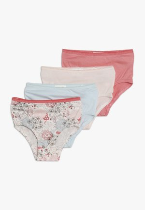 FLOWERS 4 PACK - Briefs - light blue