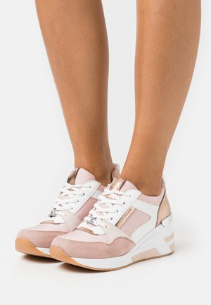Sneakers laag - rose/white