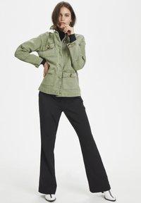 Denim Hunter - THE ARMY - Summer jacket - dusty olive - 1