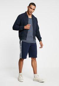 Hollister Co. - TAPED - Pantalones deportivos - navy - 1