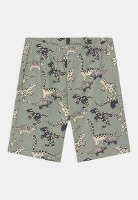 Lindex - MINI DINO 2 PACK - Pyjamas - khaki - 4