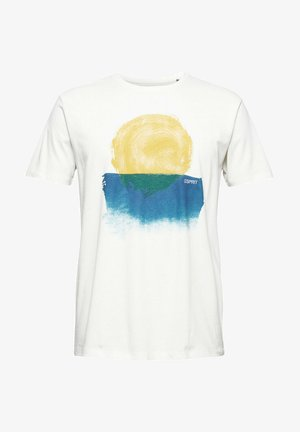 ARTWORK - Print T-shirt - off white