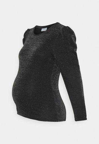 PCMSANNA  - Long sleeved top - black