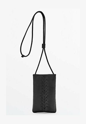 AUS MIT SCHNALLE LIMITED EDITION - Across body bag - black