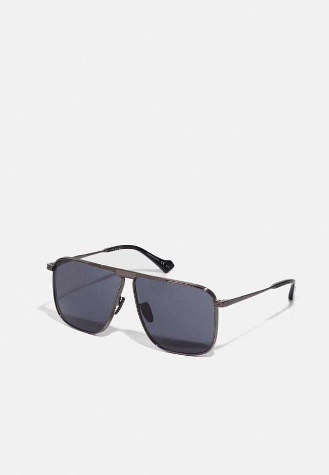 Sunglasses - ruthenium/grey