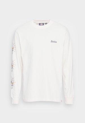 BETTLES TEE - Long sleeved top - ecru