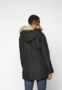 Noisy May Tall - NMOCTAVIA LONG JACKET - Winter coat - black - 2