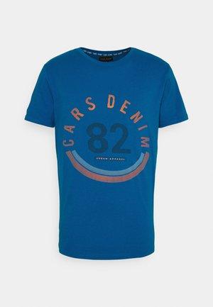 WANDER - T-shirt con stampa - kobalt