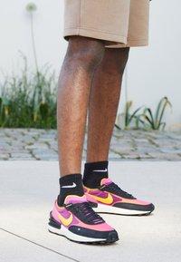 Nike Sportswear - WAFFLE ONE - Sneaker low - active fuchsia/univ gold-black-coconut milk-mtlc silver-orange - 4