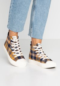 ONLY SHOES - ONLSALONE - High-top trainers - yellow - 0