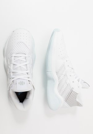 HARDEN BOUNCE BASKETBALL SHOES UNISEX - Chaussures de basket - footwear white/silver metallic/sky tint