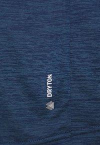 Salewa - PUEZ DRY TEE - Basic T-shirt - dark denim melange - 5