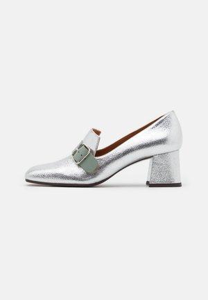 VOCA - Classic heels - tana silver/freya fango